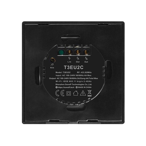 Intrerupator T3 negru
