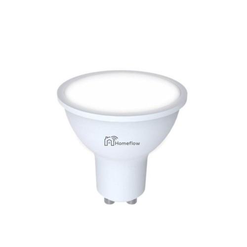 Bec LED RGBW dimabil, 9W, soclu GU10