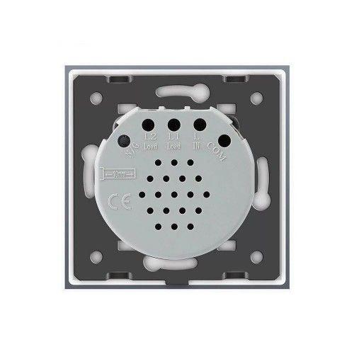Intrerupator cap scara / cruce wireless inteligent Livolo, simplu, cu touch, din sticla Livolo - 17