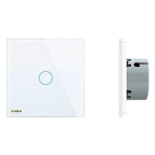 Intrerupator wireless inteligent Livolo, cu variator, simplu, cu touch, din sticla Livolo - 2