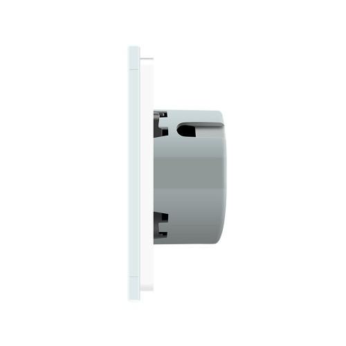 Intrerupator wireless inteligent Livolo, simplu, cu touch, din sticla Livolo - 3