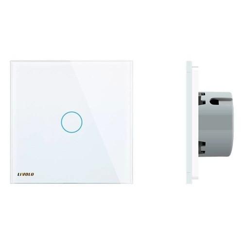 Intrerupator wireless inteligent Livolo, simplu, cu touch, din sticla Livolo - 2