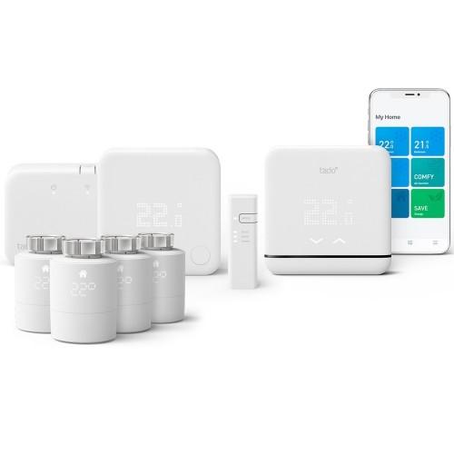 Termostat Wireless smart pentru aer conditionat (AC) si centrala termica (pachet automatizare climatizare)