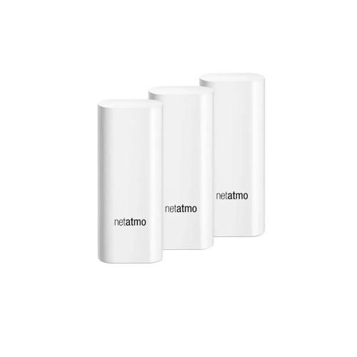 Alarma inteligenta Netatmo Smart Alarm System Camera, WiFi, recunoastrea faciala, compatibila HomeKit