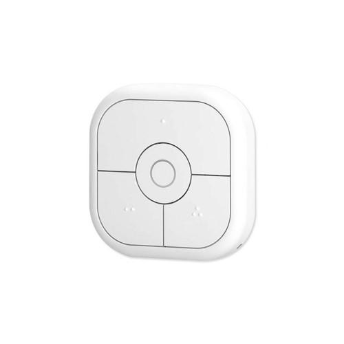 Telecomanda / switch wireless Aeotec NanoMote Quad, 4 butoane, Z-Wave, compatibila cu SmartThings
